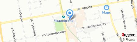 СтоИгр на карте Екатеринбурга