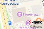 Схема проезда до компании Легенда в Екатеринбурге