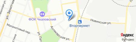 Детский сад №405 на карте Екатеринбурга