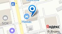 Компания Ронси на карте
