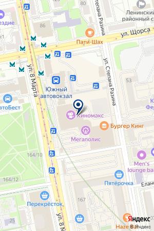 МАГАЗИН МОНЕТКА СУПЕР на карте Екатеринбурга