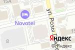 Схема проезда до компании Синергия в Екатеринбурге