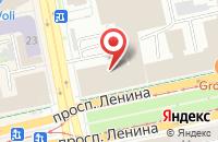 Схема проезда до компании Урал-Бизнес-Концерт в Екатеринбурге