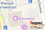 Схема проезда до компании Alibi в Екатеринбурге