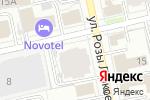 Схема проезда до компании Главная Дорога в Екатеринбурге