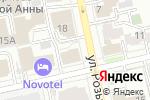 Схема проезда до компании Свадебное Антре в Екатеринбурге