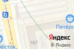 Схема проезда до компании ВТБ Банк Москвы в Екатеринбурге