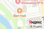 Схема проезда до компании Энвижн Груп в Екатеринбурге
