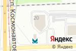 Схема проезда до компании Энтузиаст-С в Екатеринбурге
