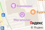 Схема проезда до компании Екб-Ворк в Екатеринбурге