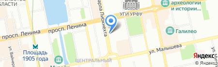 Щедрый агроном на карте Екатеринбурга