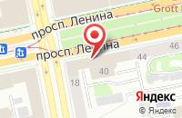 Схема проезда до компании Аромасемком в Екатеринбурге