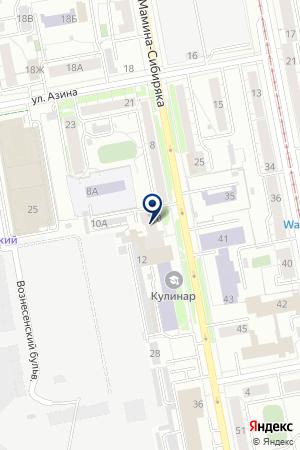 Стимул на карте Екатеринбурга