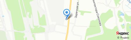Газснаб-Е на карте Екатеринбурга