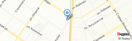 Путешественник на карте Екатеринбурга