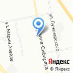 Сибиряк на карте Екатеринбурга