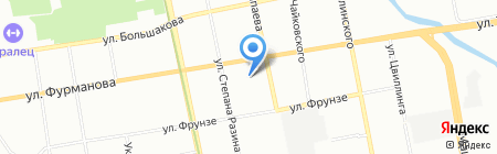 Л`Классика на карте Екатеринбурга