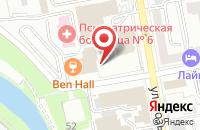 Схема проезда до компании Сторинг в Екатеринбурге