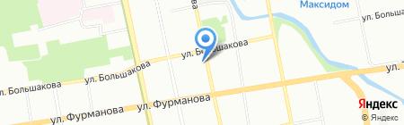 Альма-Матер на карте Екатеринбурга