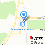 Павловский на карте Екатеринбурга