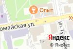 Схема проезда до компании Брюки Корона в Екатеринбурге