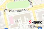 Схема проезда до компании Банкомат, Уральский транспортный банк, ПАО в Екатеринбурге