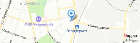 Балтбет на карте Екатеринбурга
