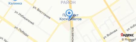 МегаФон на карте Екатеринбурга