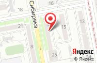 Схема проезда до компании Инфоком в Екатеринбурге