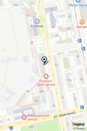 УРАЛПРОЕКТСЕРВИС на карте Екатеринбурга