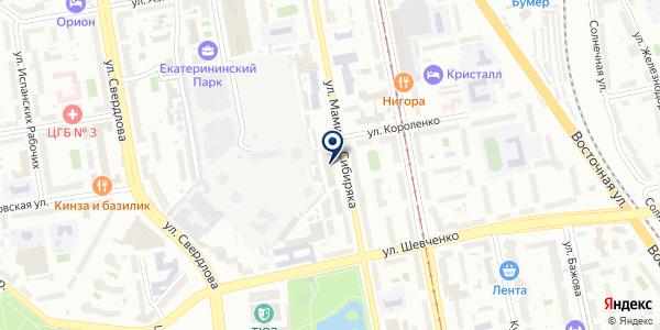 ИНЖЕНЕРНЫЕ ИЗЫСКАНИЯ на карте Екатеринбурге