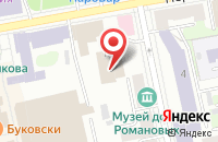 Схема проезда до компании Редакция журнала  в Екатеринбурге