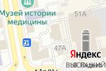 Схема проезда до компании Гранд-Финанс в Екатеринбурге