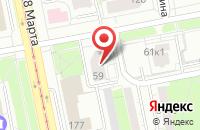 Схема проезда до компании Урал-Ток в Екатеринбурге