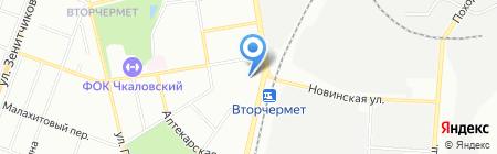 Мясной край на карте Екатеринбурга