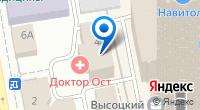 Компания Сименс на карте
