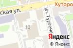 Схема проезда до компании CITY Serviсe в Екатеринбурге