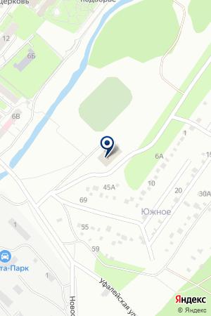 Бассейн ФОК Лидер на карте Екатеринбурга