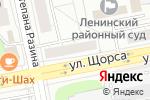 Схема проезда до компании Точка страхования в Екатеринбурге