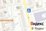 Схема проезда до компании Магнолия-Тур в Екатеринбурге
