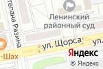 Схема проезда до компании Пятак в Екатеринбурге