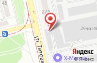 Схема проезда до компании Маршал «Рекламная Фирма» в Екатеринбурге