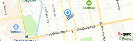 Экспресс-Капитал на карте Екатеринбурга