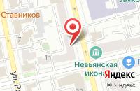 Схема проезда до компании Центр в Новокуйбышевске
