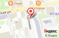 Схема проезда до компании Объединение Рекламодателей Севера в Екатеринбурге