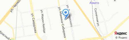 Средняя общеобразовательная школа №30 на карте Екатеринбурга