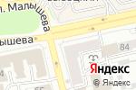 Схема проезда до компании Галерея цветов в Екатеринбурге