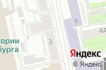 Схема проезда до компании На Балконе в Екатеринбурге
