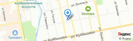 Банкомат АКБ СОЮЗ на карте Екатеринбурга