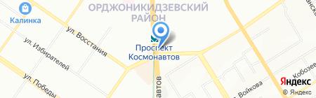 Банкомат Росгосстрах Банк на карте Екатеринбурга